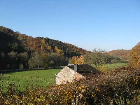 herfst week end in de ardennen